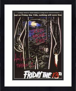 "Ari Lehman ""Jason Never Dies!"" Autographed Friday the 13th Jason Voorhees 8x10 Photo"