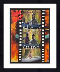 Ari Lehman signed Friday the 13th Filmstrip Jason Voorhees 11x14 Photo triple Jason 1/F13/1980- Lehman Hologram