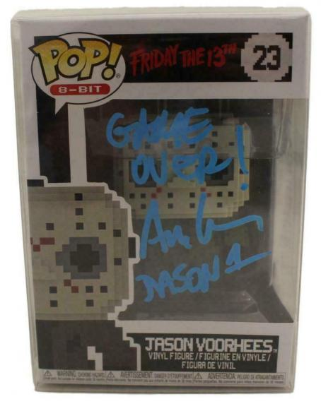 Ari Lehman Signed Friday The 13th Jason Funko Pop 8 Bit Game Over BAS 23765