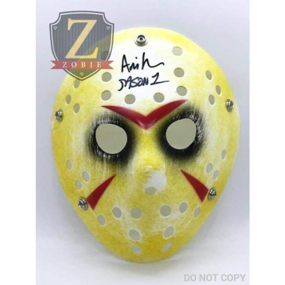 Ari Lehman Signed Jason Mask Friday the 13th AUTOGRAPH JSA COA Z4