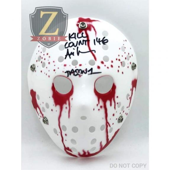 Ari Lehman Signed Jason Mask Friday the 13th AUTOGRAPH JSA COA Z5