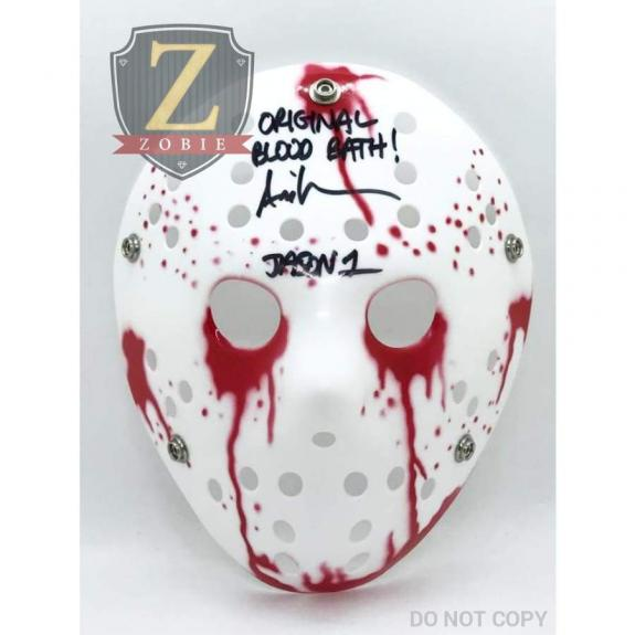 Ari Lehman Signed Jason Mask Friday the 13th AUTOGRAPH JSA COA Z6