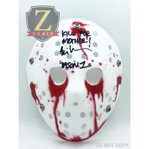 Ari Lehman Signed Jason Mask Friday the 13th JSA COA