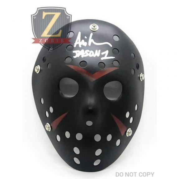 Ari Lehman Signed Jason Mask Friday the 13th JSA COA Z2
