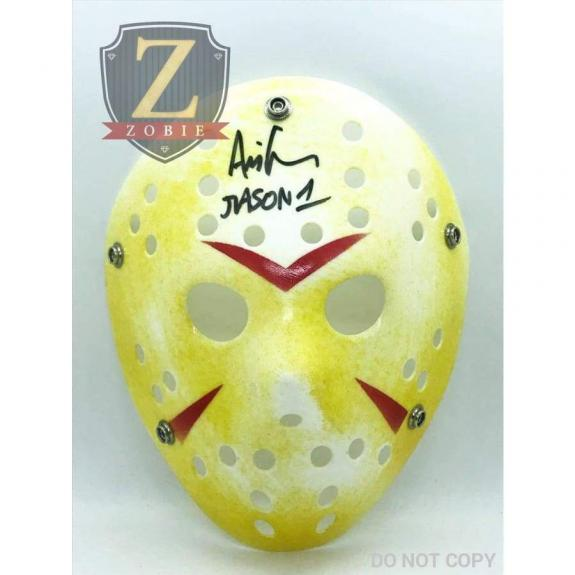Ari Lehman Signed Jason Mask Friday the 13th JSA COA Z3