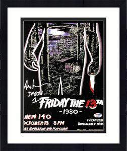 "Ari Lehman Signed Jason Voorhees:Friday The 13th 11x14 Photo ""Jason 1"" PSA 44836"