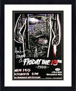 "Ari Lehman Signed Jason Voorhees:Friday The 13th 11x14 Photo ""Jason 1"" PSA 44837"