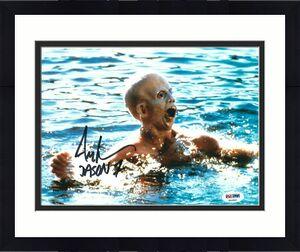 "Ari Lehman Signed Jason Voorhees:Friday The 13th 8x10 Photo ""Jason 1"" PSA 44941"