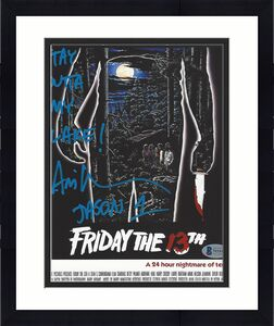 "ARI LEHMAN the FIRST JASON VOORHEES as a CHILD in the Film ""FRIDAY the 13TH"" (BECKETT) Signed 8x10 Color Photo"