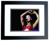 Ariana Grande Signed - Autographed Concert 11x14 inch Photo BLACK CUSTOM FRAME - Guaranteed to pass PSA or JSA - Victorious Actress