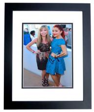 Ariana Grande Signed - Autographed SAM AND CAT 8x10 inch Photo BLACK CUSTOM FRAME - Guaranteed to pass PSA or JSA