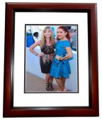Ariana Grande Signed - Autographed SAM AND CAT 8x10 inch Photo MAHOGANY CUSTOM FRAME - Guaranteed to pass PSA or JSA