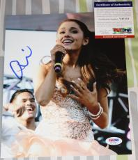 Ariana Grande signed 8 x 10, Sam & Cat, Yours Truly, My Everything, PSA/DNA