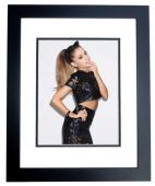 Ariana Grande Signed - Autographed Sexy Singer - Actress 8x10 inch Photo BLACK CUSTOM FRAME - Guaranteed to pass PSA or JSA
