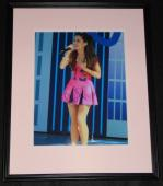 Ariana Grande Signed Framed 11x14 Photo JSA Sam & Cat