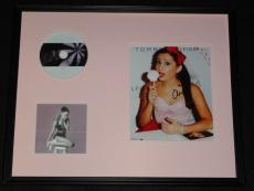 Ariana Grande Signed Framed 16x20 My Everything CD & Photo Display JSA