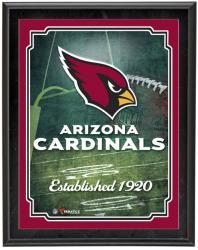 "Arizona Cardinals Team Logo Sublimated 10.5"" x 13"" Plaque"
