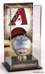 Arizona Diamondbacks Game-Used Baseball and Sublimated Display Case
