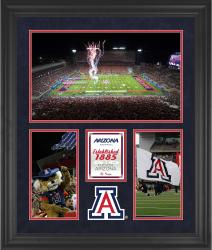 "Arizona Wildcats Arizona Stadium Framed 20"" x 24"" 3-Opening Collage"