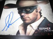 ARMIE HAMMER SIGNED AUTOGRAPH 8x10 PHOTO THE LONE RANGER DEPP IN PERSON COA B