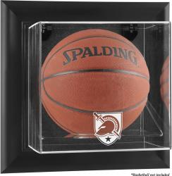 Army Black Knights Black Framed (2015-Present Logo) Wall-Mountable Basketball Display Case