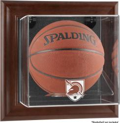 Army Black Knights Brown Framed (2015-Present Logo) Wall-Mountable Basketball Display Case
