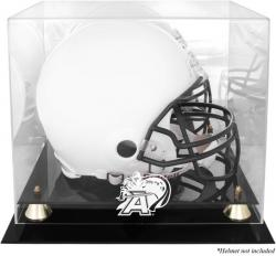 Army Black Knights Golden Classic Team Logo Helmet Display Case with Mirrored Back
