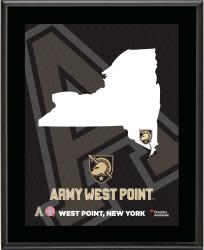 "Army Black Knights Sublimated 10.5"" x 13"" State Plaque"