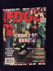 Army Of Anyone Signed Edge Magazine