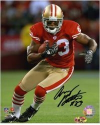 "Arnaz Battle San Francisco 49ers Autographed 8"" x 10"" Running Photograph"