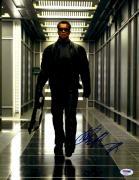 "Arnold Schwarzenegger Autographed 11"" x 14"" Terminator Photograph - PSA/DNA"