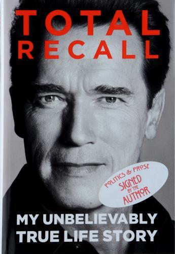 Arnold Schwarzenegger Autographed Total Recall Book - BAS