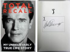Arnold Schwarzenegger Autographed TOTAL RECALL Hardcover Book - 656 Pages