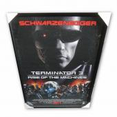 Arnold Schwarzenegger + Cast Terminator 3 Custom Framed Large Movie Poster JSA