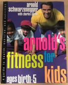 Arnold Schwarzenegger Charles Gaines Signed Fitness For Kids Hardcover Book Jsa