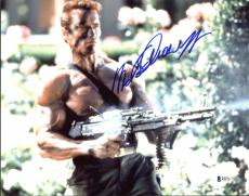 Arnold Schwarzenegger Commando Signed 11X14 Photo BAS #B38775