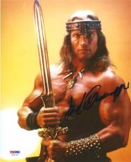 Arnold Schwarzenegger Conan Autographed Signed 8x10 Photo Certified PSA/DNA