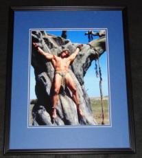 Arnold Schwarzenegger Conan the Barbarian Framed 11x14 Photo Poster