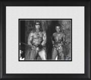 "Arnold Schwarzenegger Conan the Destroyer Framed 8"" x 10"" with Grace Jones Photograph"