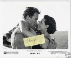 Arnold Schwarzenegger Jamie Lee Curtis True Lies Photo