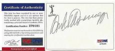 Arnold Schwarzenegger Movie Legend Signed Autographed Bookplate Psa/dna Coa B