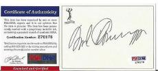 Arnold Schwarzenegger Movie Legend Signed Autographed Bookplate Psa/dna Coa F