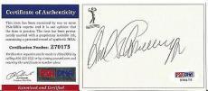 Arnold Schwarzenegger Movie Legend Signed Autographed Bookplate Psa/dna Coa J