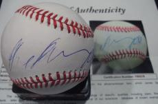 Arnold Schwarzenegger Movie Legend Signed Autographed Romlb Baseball Jsa Loa