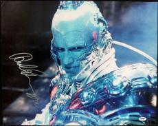 Arnold Schwarzenegger Mr. Freeze Signed 16X20 Photo PSA/DNA #J00088