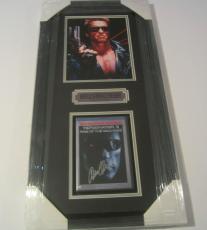 Arnold Schwarzenegger Rare Signed Autographed Framed Dvd Cover Terminator 3 Jsa