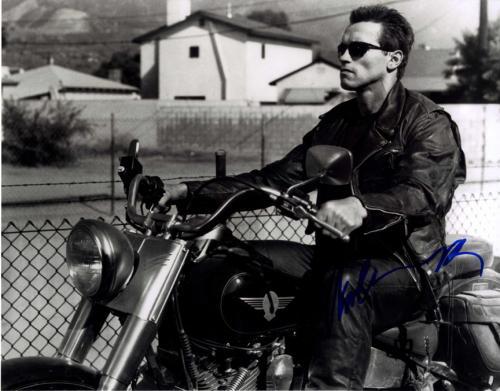 Arnold Schwarzenegger Signed 11x14 B/W Poster Photo UACC RD COA AFTAL