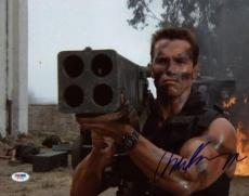 Arnold Schwarzenegger Signed 11x14 Photo Auto Graded Gem Mint 10! Psa #w77956