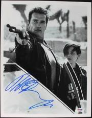 Arnold Schwarzenegger Signed 11x14 Photo Autographed Psa/dna #t50421