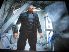 Arnold Schwarzenegger Signed 11x14 Photo Terminator Genisys Rare In Person Ny D